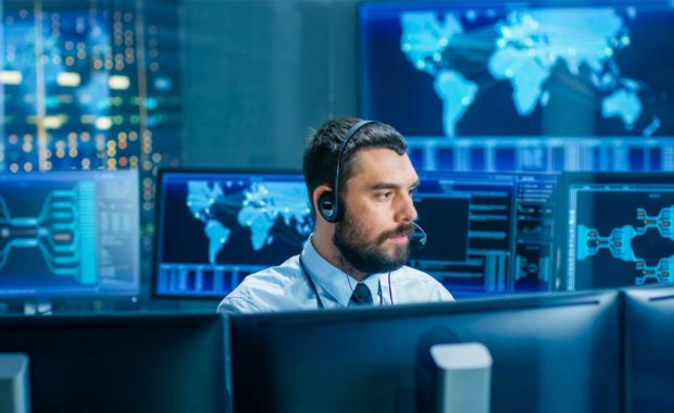 cybersecurity-professional-fostering-culture-at-his-desk-and-protecting-against-threats