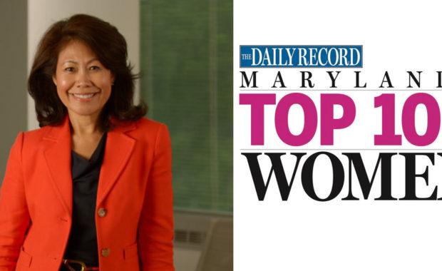 Marie Hartman named Maryland's Top 100 Women