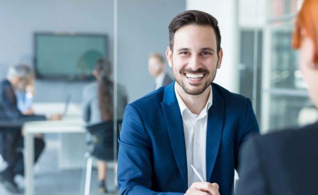 Advisor Advising a Client