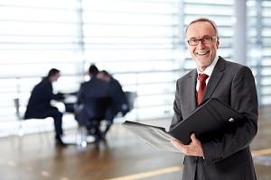 man happy about new it portfolio management
