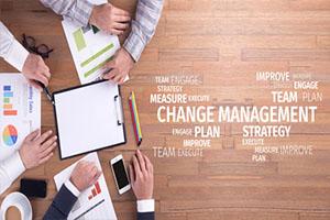 Business Concept: Change Management Word Cloud  G