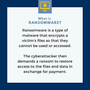 Ransomeware graphic