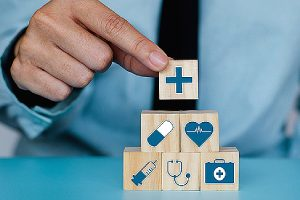 Telehealth and healthcare concept