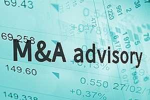Bank M&A advisory concept