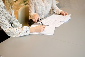 M&A advisor assisting a client