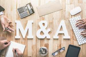 Merger and acquisition concept. M&A integration, otherwise known as post-merger integration (PMI)