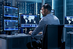 a cybersecurity consultant performing CMMC compliance services