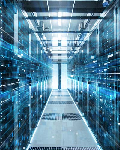 a data center for a new IT department
