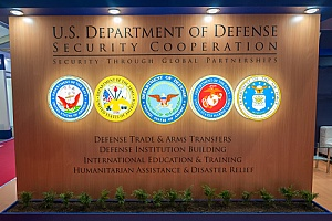 Department of Defense logos portraying the importance of defense