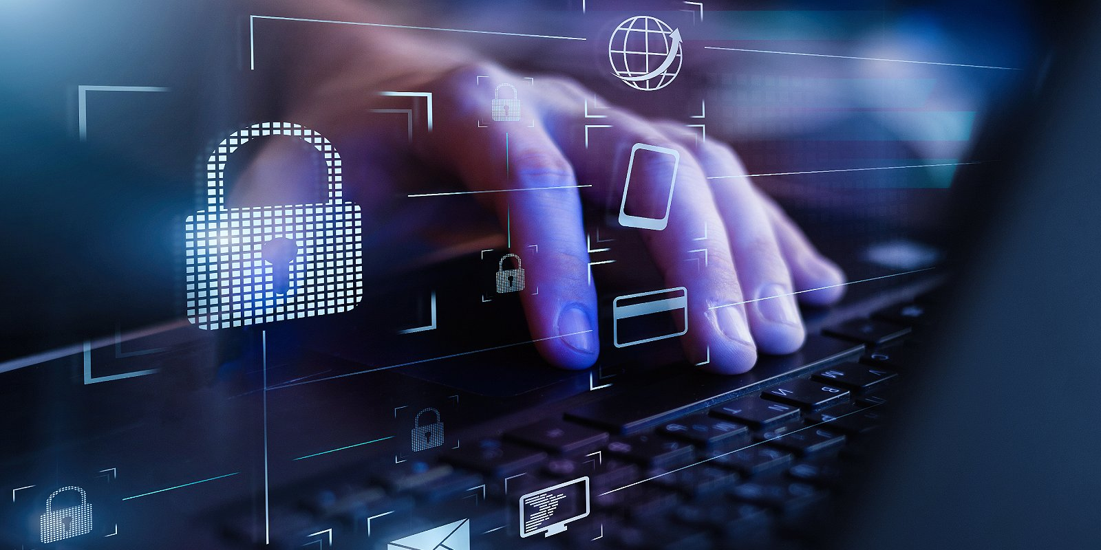 Cybersecurity and data encryption. Cybersecurity measures are must for banks