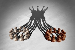business group leadership concept as a merger and acquisition