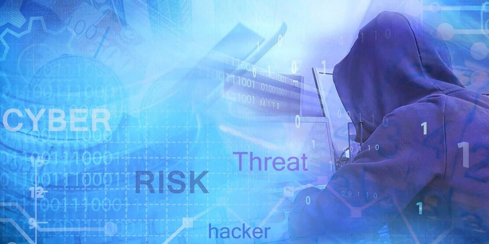 risk management for cyber threats and security assessment concept