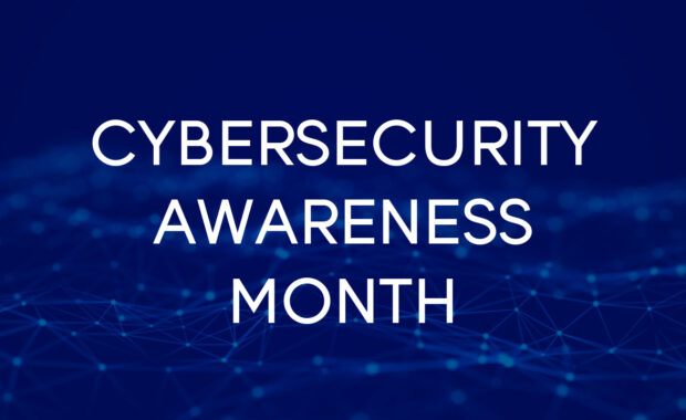 Cybersecurity Awareness Month banner